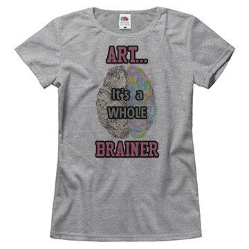 Art... It's a Whole Brainer