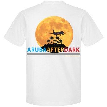 Aruba After Dark Excl By KAD | Mens Crew Neck Back Logo