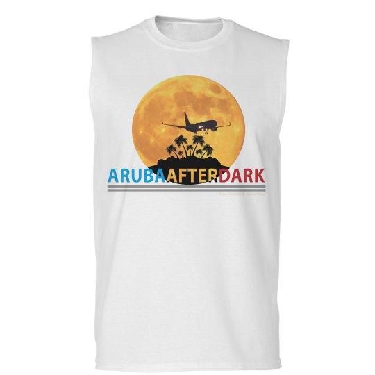 Aruba After Dark Excl By KAD | Mens Sleeveless Tee
