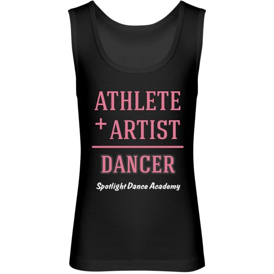 Athlete + Artist Tank-Youth