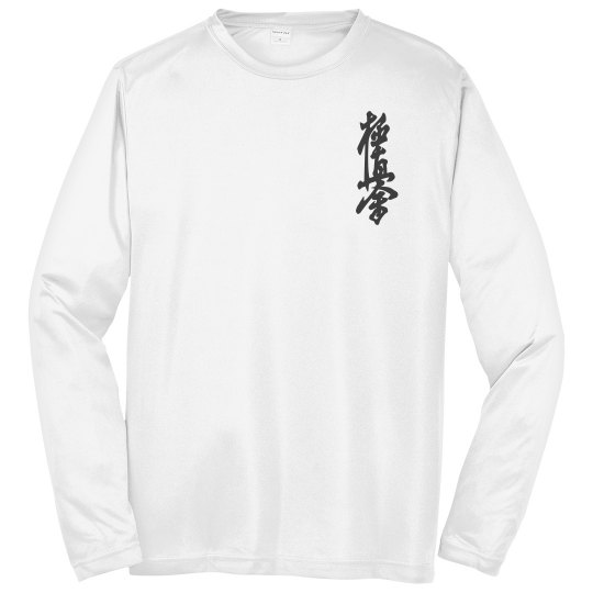 Athletic Long Tee with Kanji and Logo