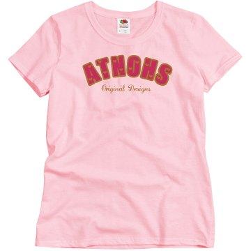 Atnohs woman pj bottoms pink