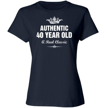 Authentic 40 year old