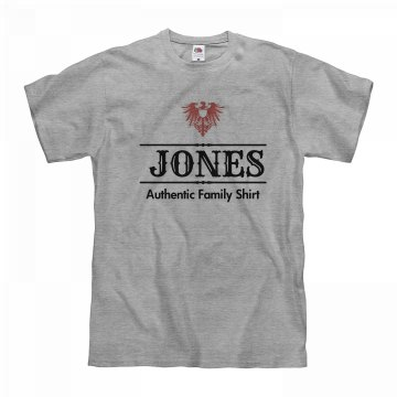 Authentic jones shirt