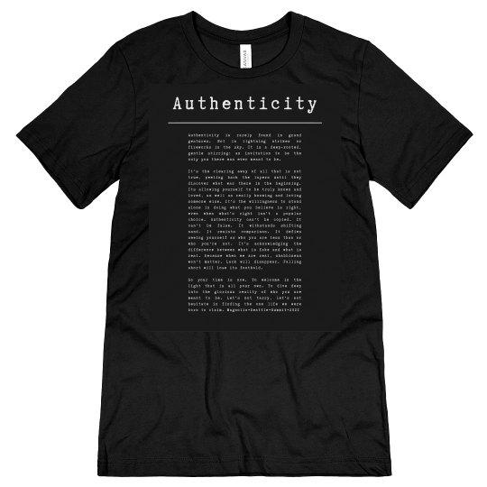 Authenticity black