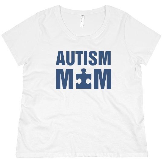 Autism Awareness Proud Mom