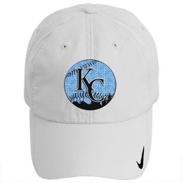 Autism BLUE KC (Baseball) Hat