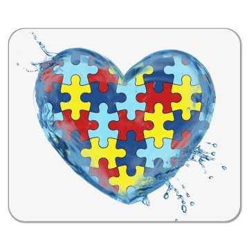 Autism LIQUID LOVE Mousepad