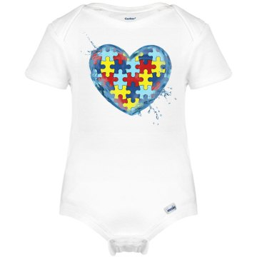 Autism LIQUID LOVE Onesie