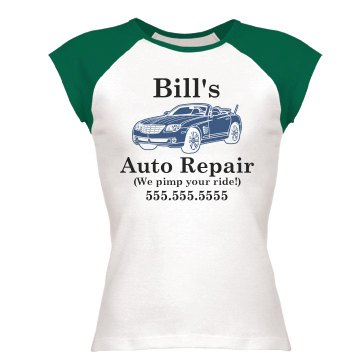 Auto Repair Business Tee