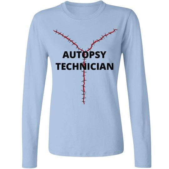 Autopsy Technician Long Sleeve