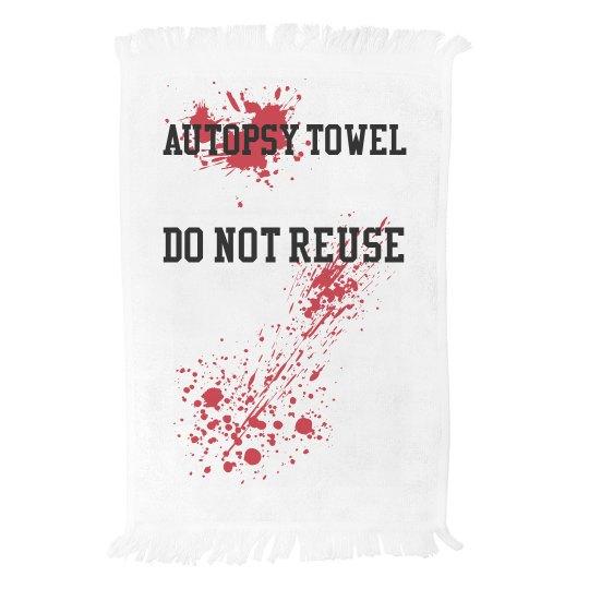 Autopsy Towel