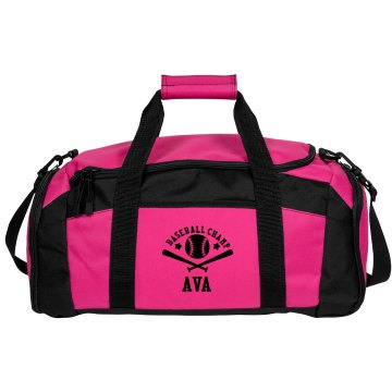 Ava. Baseball bag