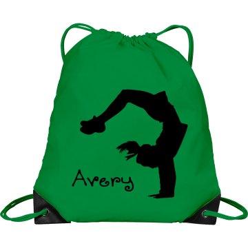 Avery cheerleader bag