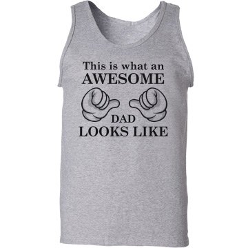 Awesome Dad looks like