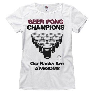 Awesome Rack Champ Tee
