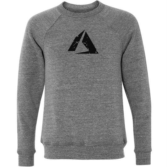 Azure Logo Crewneck Sweater Grey