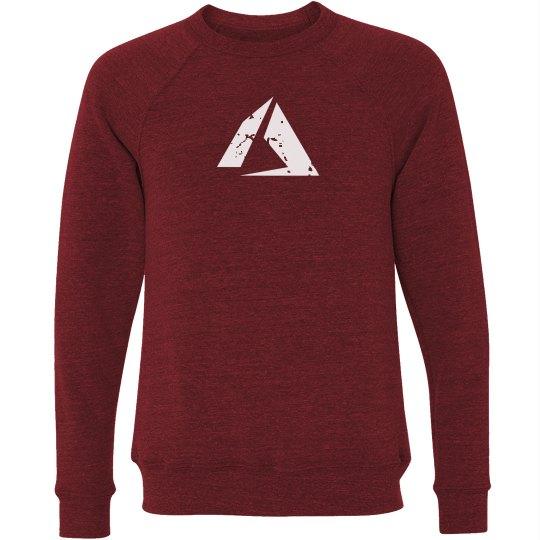 Azure Logo Crewneck Sweater Red