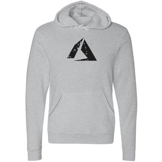 Azure Logo Fleece Pullover Hoodie Athletic Heather
