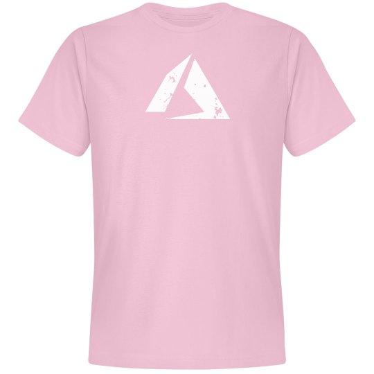Azure Logo Tee Pink
