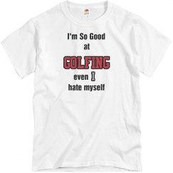 So good at golfing