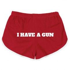 Slim Fit American Apparel Running Shorts