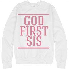 God first Sis.