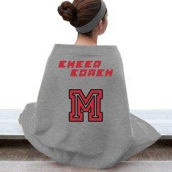 Cheer Coach Blanket
