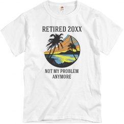 Custom Year Retired T-Shirt