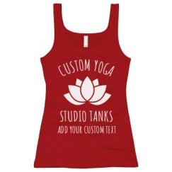 Ladies Slim Fit Longer Length Tank