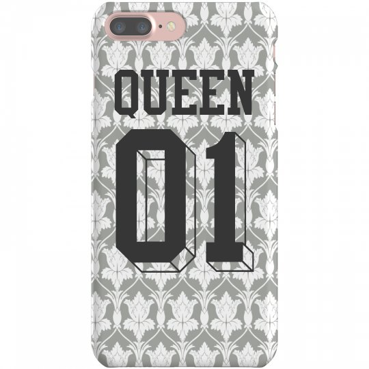 90fb05b511 Queen Matching Phone Case To King iPhone 7 Plus Slim Fit Snap Case