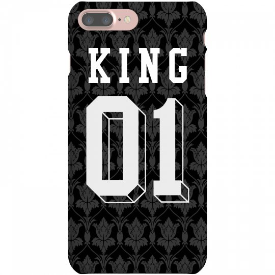 ff427265f5 King & Queen Matching iPhone Cases iPhone 7 Plus Slim Fit Snap Case