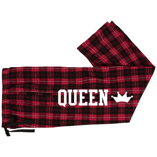 830888d8aab0 King Queen Matching Pajama Pants Unisex Fashion Flannel Pajama Pants