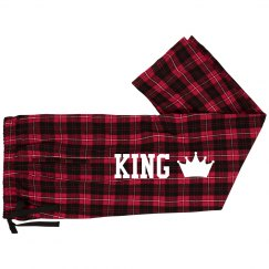 King Queen Matching Xmas Pajamas
