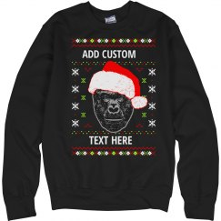 Harambe Custom Ugly Sweater