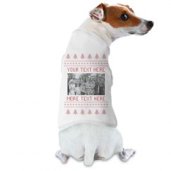 Custom Family Dog Ugly Sweater