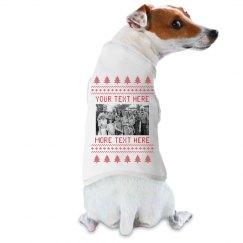 Custom Family Dog Ugly Sweater