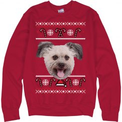Custom Photo Ugly Christmas Sweater