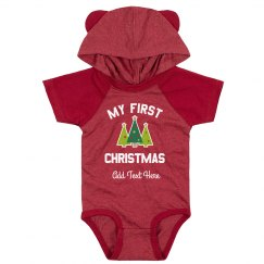 Custom My First Christmas