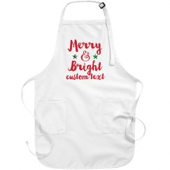 Merry & Bright Holiday Apron