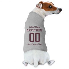 Custom Dog School Sports Fan Gift