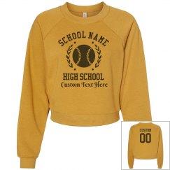 Custom High School Baseball Sweater