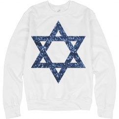 sequin star of david