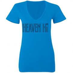 Blue Heaven hi v-neck