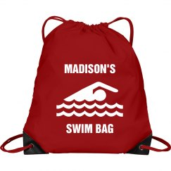 Madison's swim bag