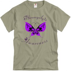 Purple Butterfly Fibromyalgia Awareness