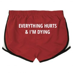 Funny Workout Gym Shorts