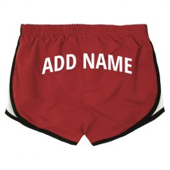 Custom Name Workout Gym Shorts