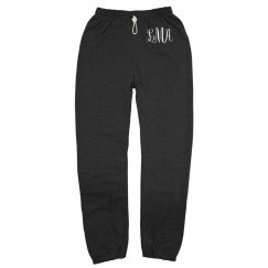 Custom Initials Gym Workout Sweats