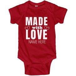 Custom Made with Love Bodysuit